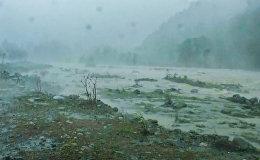 Наводнение в Гурии: кадры с места стихийного бедствия