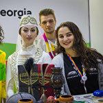 ქართული სტენდი ახალგაზრდობისა და სტუდენტობის მსოფლიო ფესტივალზე სოჭში