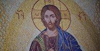 Изображение Иисуса Христа на иконе в храме Светицховели