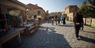 Одна из центральных улиц города Мцхета