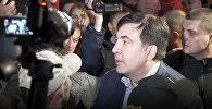 Протесты у Верховной Рады в Киеве с участием Саакашвили