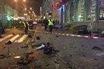 Наезд на пешеходов в Харькове