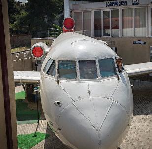 Детский сад в самолете: в Рустави придумали развлечение для детей