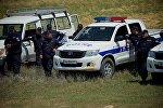 Сотрудники полиции в регионе Шида Картли