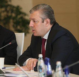 Выступление премьер-министра Грузии Георгия Квирикашвили на заседании правительства
