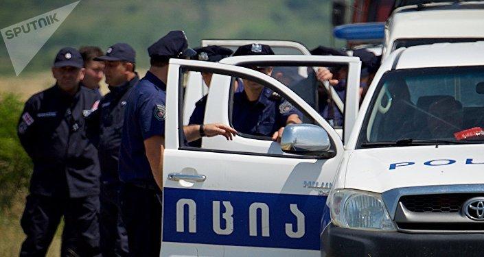 პოლიცია შიდა ქართლში