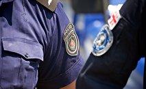 პოლიციის თანამშრომლები
