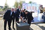 В Батуми заложили основу строительства общежития Батумского государственного университета имени Шота Руставели