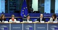 Михаил Джанелидзе в Европарламенте