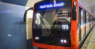 Новые вагоны тбилисского метро: как выглядят пассажирские составы