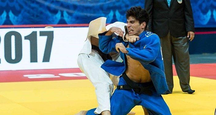 Южноуральский дзюдоист стал бронзовым призером «Большого Шлема» вЭмиратах