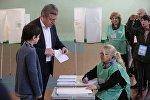Премьер Грузии Георгий Квирикашвили проголосовал на выборах в местные органы власти
