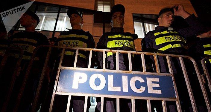 პოლიცია ცესკოსთან - არქივის ფოტო