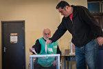 Как в Тбилиси проходят выборы в местные органы власти
