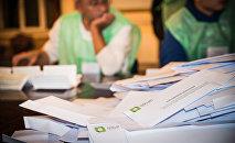 Подсчет голосов на выборах в местные органы власти