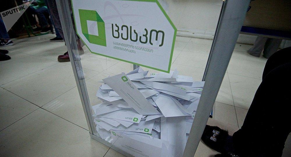 2-ой  тур голосования наместных выборах проходит вГрузии