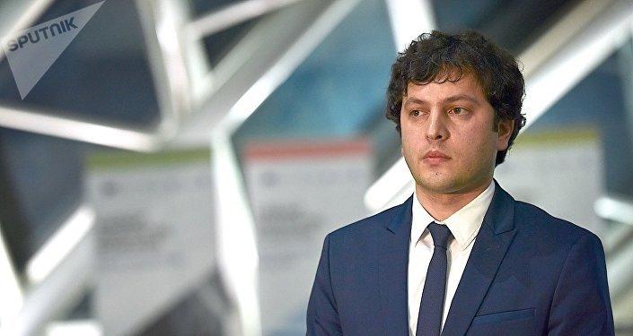 Председатель парламента Грузии Ираклий Кобахидзе