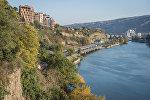 Вид на Тбилиси и Куру