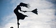 Женская фигура, указывающая направление ветра