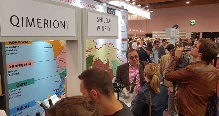 ქართული ღვინო საერთაშორისო გამოფენაზე MEGA VINO 2017