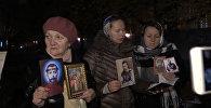 Акция в Санкт-Петербурге против показа фильма Матильда