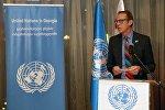 Постоянный координатор ООН в Грузии Нилс Скотт