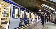 Тематический поезд Сердце России в Лондонском метро