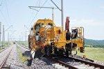 Строительство железной дороги в рамках проекта БТК