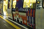 Тематический поезд по России в лондонском метро