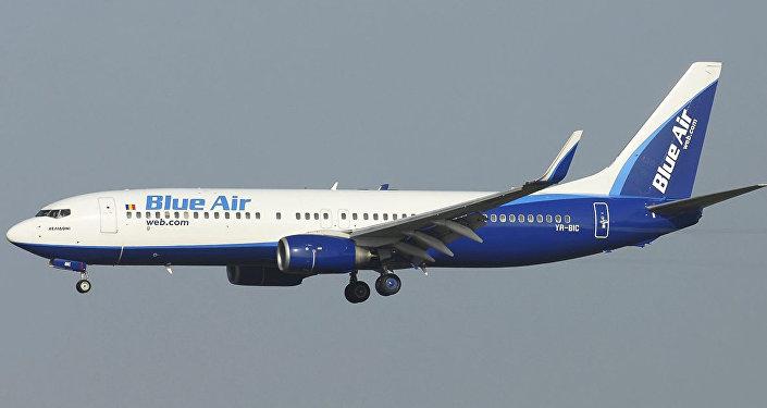 ავიაკომპანია Blue Air Airline-ის თვითმფრინავი