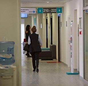 Пациенты на приеме в больнице