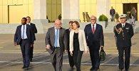 Министры обороны Грузии и Франции Леван Изория и Флоранс Парли в Тбилиси