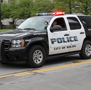 ამერიკის პოლიციის მანქანა