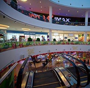 Кинотеатр в одном из торговых центров грузинской столицы