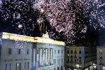 Реакция на объявление о независимости Каталонией в Барселоне