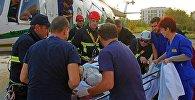Спасательная операция в Панкисском ущелье