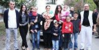 Многодетная семья Пирвели