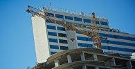 Строительство нового жилого дома у мэрии Тбилиси