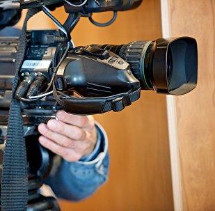 Оператор с телекамерой