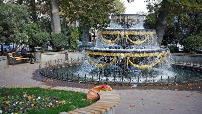 Фонтан в Пушкинском сквере