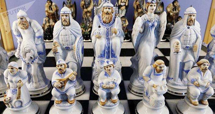 ფაიფურის ჭადრაკი