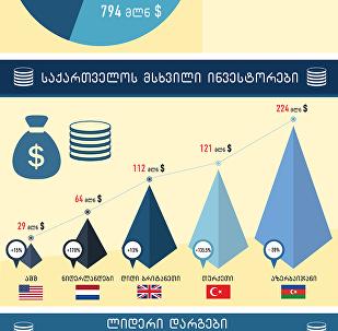 საქართველოს ინვესტორები: ლიდერი ქვეყნების ხუთეული