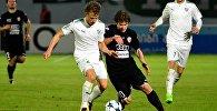Юношеская команда ФК Сабурстало в матче против сербского Бродараца