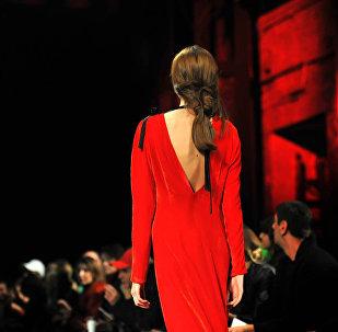 Показ коллекции дизайнера Vaska в рамках недели моды Mercedes-Benz Fashion Week Tbilisi