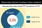 Инвесторы Грузии: пятерка стран-лидеров