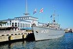 Военные корабли НАТО в батумском порту
