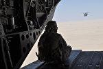 Вертолеты ВВС Саудовской Аравии летят в сторону Йемена