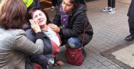 Полиция Дюссельдорфа применила слезоточивый газ против курдов