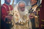 Католикос-Патриарх Всея Грузии Илия Второй проводит богослужение