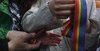 ЛГБТ акция. Архивное фото